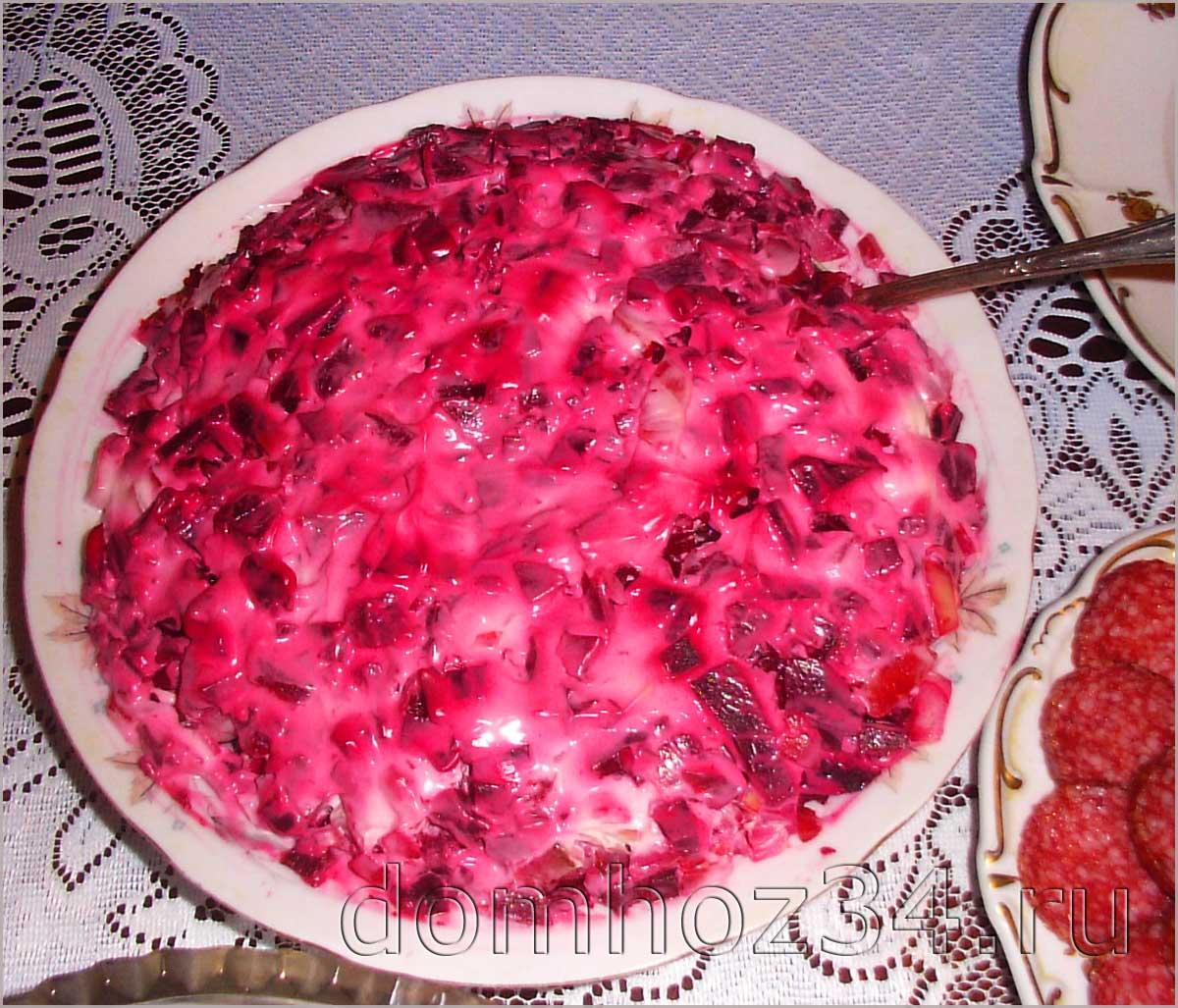 Салат любовник пошаговый рецепт с фото
