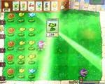 Скриншот игры растения против зомби