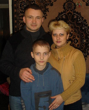 Олина семья