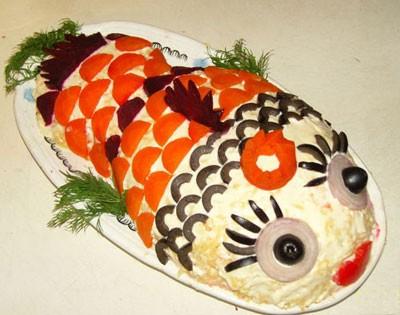 Салат Чудо-рыбка