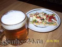 Пиво и пицца