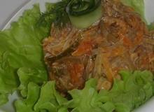 рецепт салата с солеными огурцами и морковью