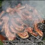 Шашлык из свиных ребрышек
