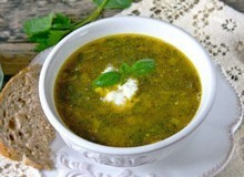 Суп с щавелем и с крапивой