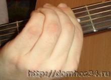 Прием Баррэ на гитаре