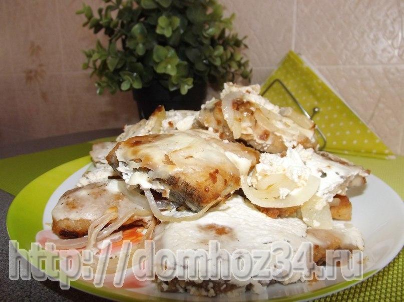 рецепт говядина запеченная в духовке в сметане с