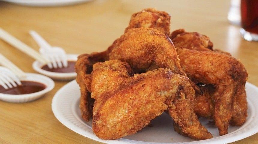 Куриные крылышки приготовленные в соевом соусе