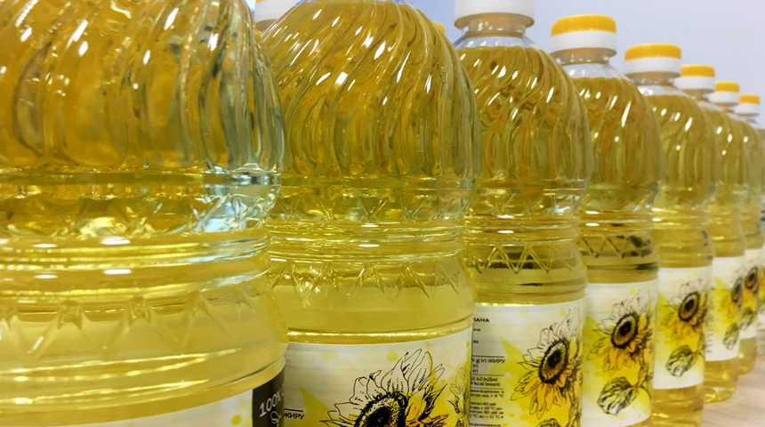 Рафинированное постное масло