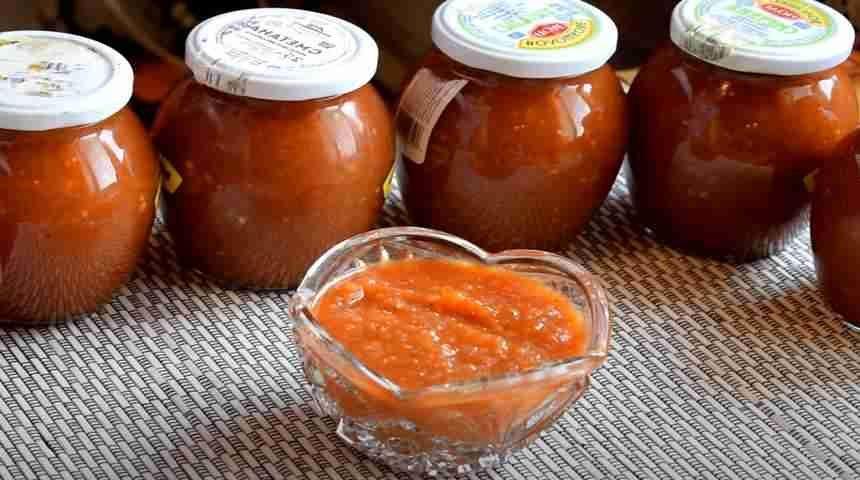 Домашний соус из помидоров