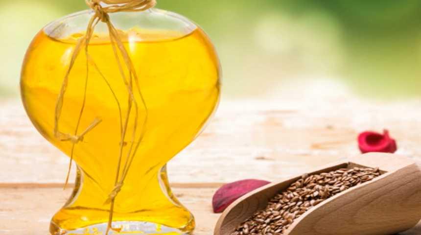 Льняное масло используется для диетического питания