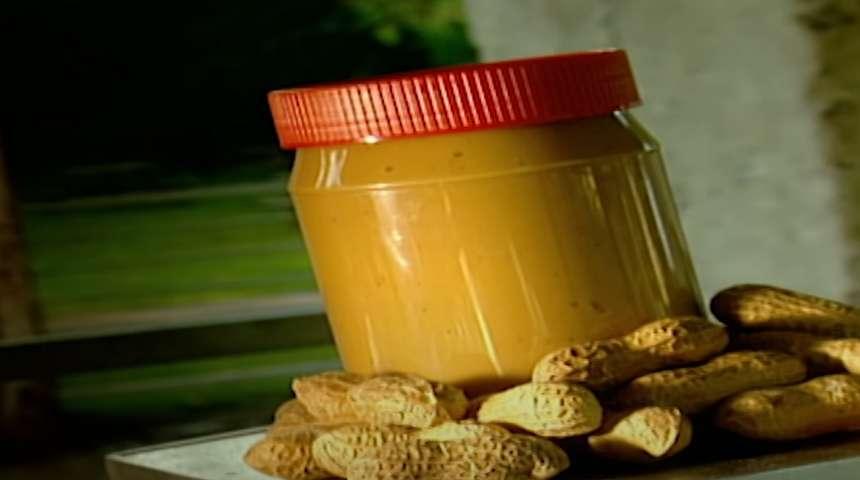 Банка арахисового масла