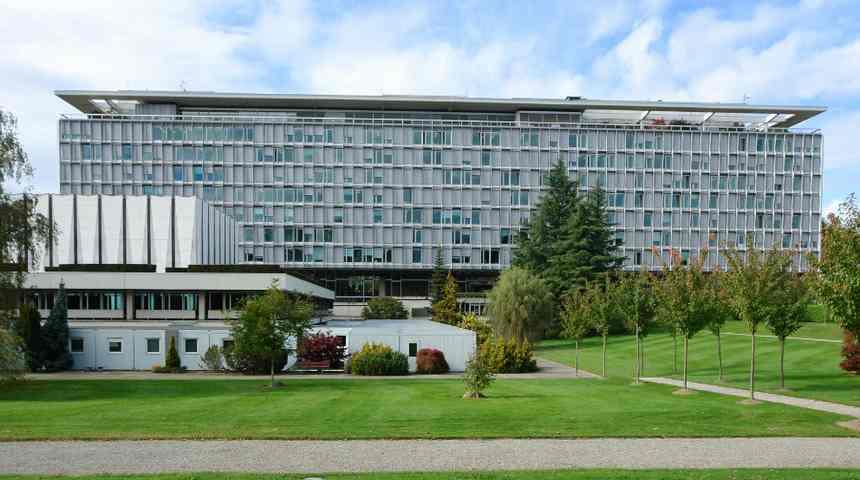 Здание Всемирной организации здравоохранения