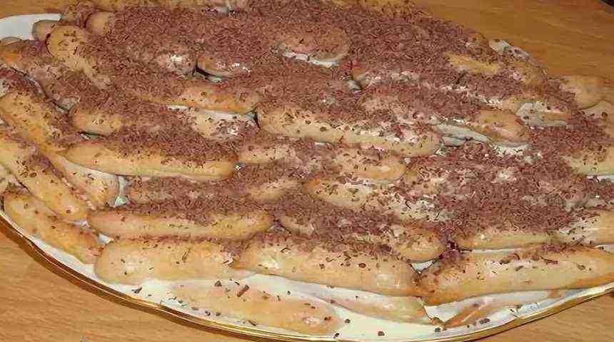 Пирожные дамские пальчики